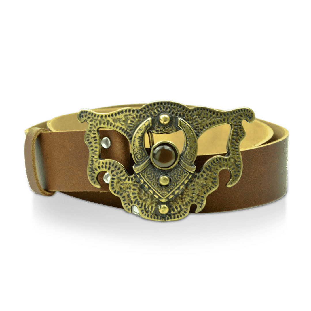 64533a625c Leather women s Belt Brown» ...