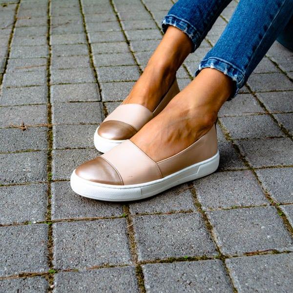 Δερμάτινο loafer