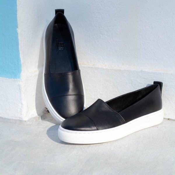 sleek buying new discount Δερμάτινο αθλητικό loafer