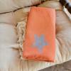 Πετσέτα Θαλάσσης 100% Βαμβακερή 'Stars' Orange
