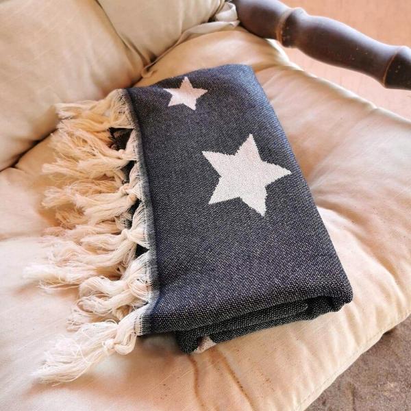 Πετσέτα Θαλάσσης 100% Βαμβακερή 'Stars'