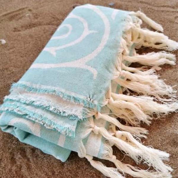 Πετσέτα Θαλάσσης 100% Βαμβακερή 'Ionic'