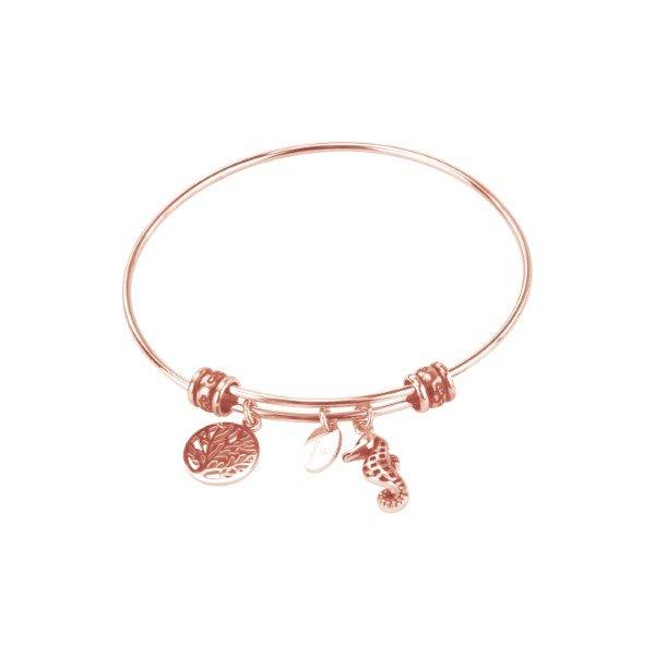 Γυναικείο Βραχιόλι ροζ χρυσό
