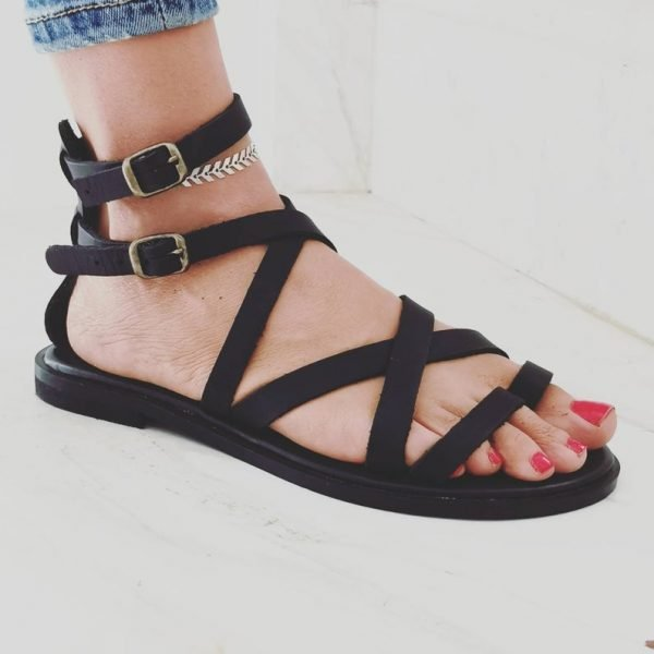 """Women's X """"ray"""" Leather Sandal"""