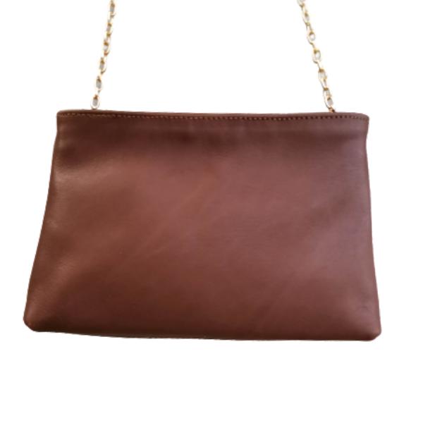 Δερμάτινη τσάντα- Φάκελος Ωμου- Χιαστί