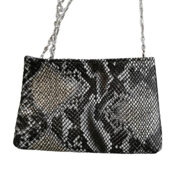 Leather bag- Shoulder envelope- Cross